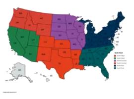 2019 Regional Locations Drawing